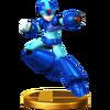 Trofeo de Mega Man X SSB4 (Wii U)