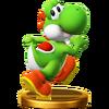Trofeo de Yoshi SSB4 (Wii U)