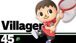45 Villager – Super Smash Bros