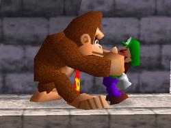 Agarre de Donkey Kong (1) SSB