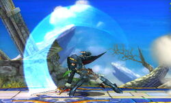 Ataque Smash lateral Lucina SSB4 (3DS)