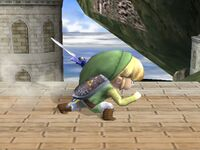 Ataque Smash lateral Toon Link SSBB (2)