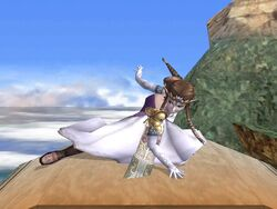 Ataque fuerte inferior Zelda SSBB