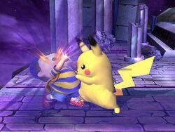 Golpiza Pikachu SSBB
