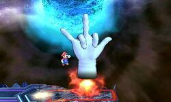 Master Hand Cohete (1) SSB4 (3DS)