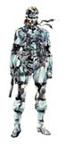Pegatina Solid Snake MGS2 SSBB