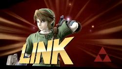 Pose de victoria de Link (1-2) SSB4 (Wii U)