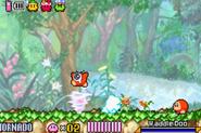 Tornado Kirby y el Laberinto de los Espejos