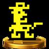 Trofeo de Sheriff SSB4 (Wii U)