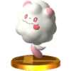 Trofeo de Swirlix SSB4 (3DS)
