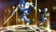 Créditos Modo Senda del guerrero Daraen SSB4 (3DS)