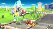 Fox en Circuito Mario (SSBB) SSB4 (Wii U)