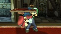 Lanzamiento hacia abajo Luigi SSBB (2)