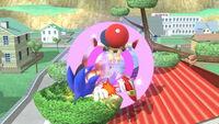 Lanzamiento hacia abajo Ness (1) SSB4 (Wii U)