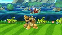 Lanzamiento hacia arriba de Bowser (1) SSB4 (Wii U)