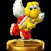 Trofeo de Paratroopa rojo SSB4 (Wii U)