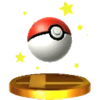 Trofeo de Poké Ball SSB4 (3DS)