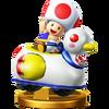 Trofeo de Toad (Pato raudo) SSB4 (Wii U)