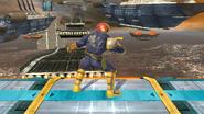 Burla lateral de Captain Falcon (1) SSB4 (Wii U)