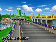 Circuito en 8 Mario Kart DS