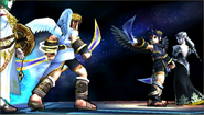 Créditos Modo Leyendas de la lucha Pit Sombrío SSB4 (3DS)