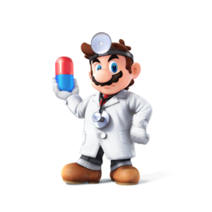 Dr. Mario Artwork en SSB4