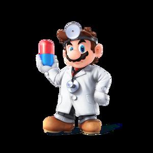 Dr. Mario Artwork en SSB4