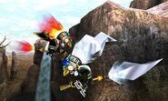 Kotake y Koume en el Valle Gerudo SSB4 (3DS)