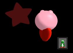Pose de victoria Kirby X (2) SSBM