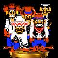 Trofeo de Wild Gunmen SSB4 (Wii U)