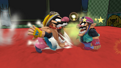 Aliento fétido (2) SSB4 (Wii U)