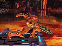 Ataque normal (2) Samus SSBB
