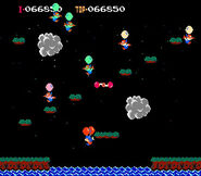 Captura de Pantalla de Balloon Fight