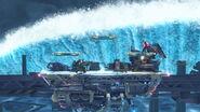 Efecto de Leviatán en Midgar (2) SSB4 (Wii U)