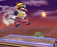 Nintendo Scope saltando SSBB