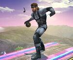 Snake usando granada SSBB