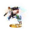 Trofeo de Golpe Trifuerza (Link) SSB4 (Wii U)
