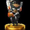 Trofeo de Wonder-Black SSB4 (Wii U)