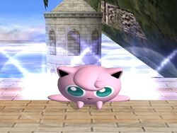 Ataque Smash inferior Jigglypuff SSBB
