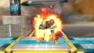 Burla superior de Captain Falcon SSB4 (Wii U)