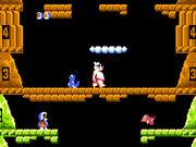 Captura de la version japonesa de Ice Climber