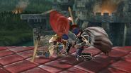 Lanzamiento superior de Ike (1) SSB4 (Wii U)