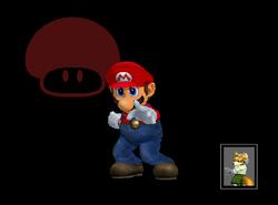 Pose de victoria Mario (7) SSBM