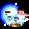 Trofeo de Golpe crítico (Lucina) SSB4 (Wii U)