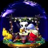 Trofeo de Sobrevolando el pueblo SSB4 (Wii U)