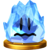 Trofeo de Tempanito SSB4 (Wii U)