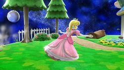 Agarre corriendo Peach SSB4 Wii U