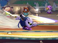 Ataque Smash lateral Meta Knight SSBB
