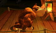 Burla lateral Donkey Kong SSB4 (3DS)