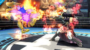 Daraen usando Arcfire SSB4 (Wii U)